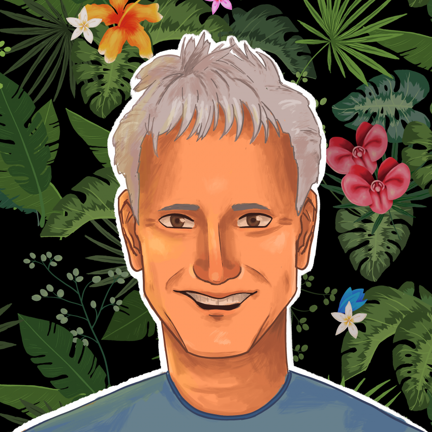 Square Profile Image Dad